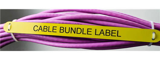 Cable Bundle Labels