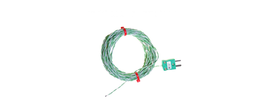 PFA Insulated Fine Wire Exposed Junction Thermocouple Type K