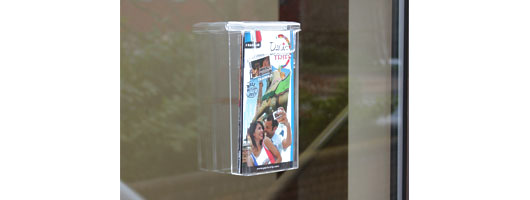 Leaflet Holder