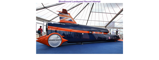 Past Projects - Bloodhound Landspeed Record Attempt