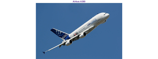 Past Projects - Airbus A380