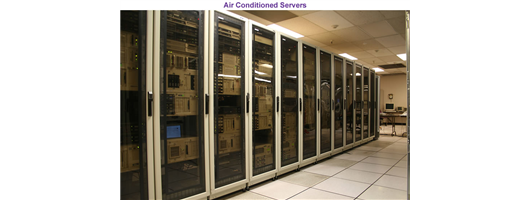 Past Projects - Air Conditioned Servers