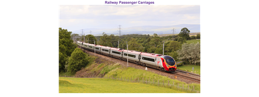 Past Projects - Railway Passenger Carriages