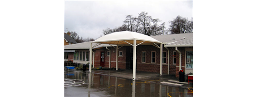 Cicogna Canopy Structure, The Brook School, Crawley