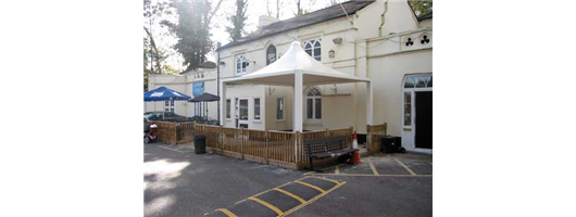 Airone Tipo Canopy, Pangbourne Working Mans Club