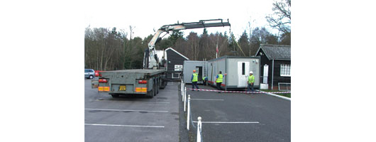 Installation of Tricon Complex at the MOD Malta Barracks (Aldershot)
