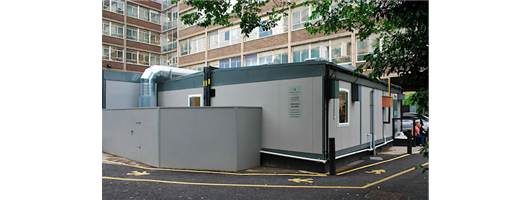 Temporary Catering Facilities- College of Northwest London