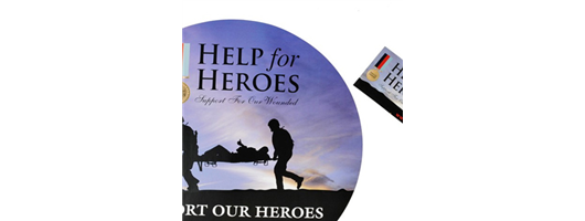 Labels - Help for Heroes