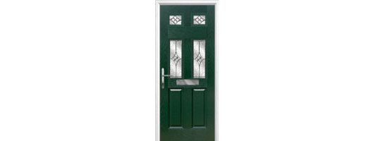2 Panel 4 Square Timber Solid Core Doors