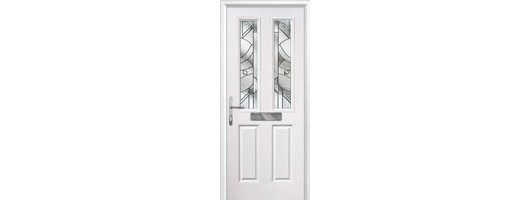 2 Panel 2 Square Timber Solid Core Doors