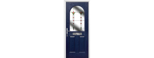 2 Panel 1 Arch Timber Solid Core Doors