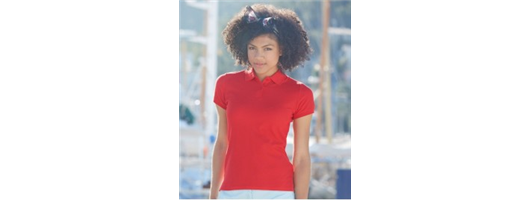 Ladies Cotton Polos