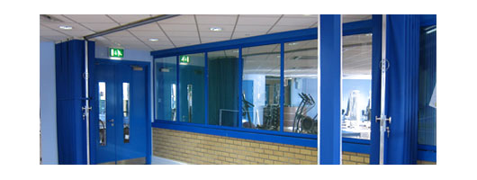 Commercial Folding Partition Systems – Gym