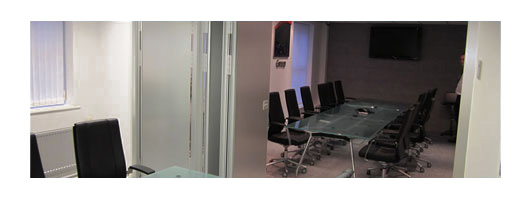 Multifold Partitions – Office/Meeting Room