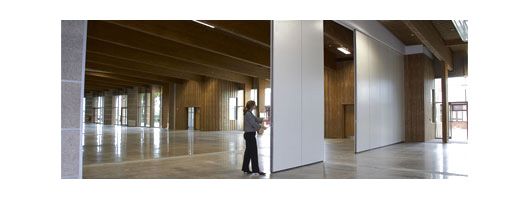 Commercial Folding or Sliding Partitions and Movable Acoustic Walls