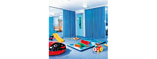 Folding Partitions – Nursery