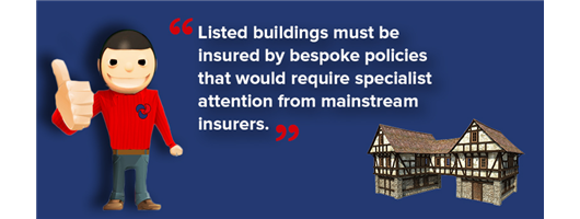 Listed property insurance