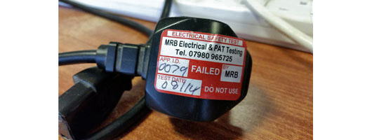 IEC lead PAT Testing commonly fail on continuity testing, MRB Electrical & PAT Testing