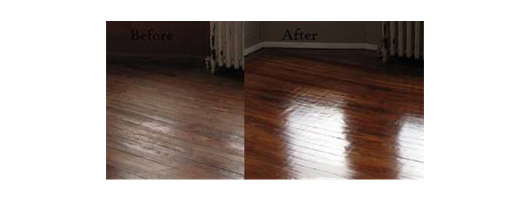 Cleaning/Restoration - Wooden Flooring