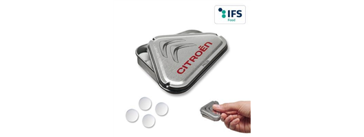 MINTS in Personalised Triangular Tin