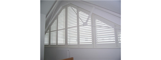 Custom Shaped Window Shutters