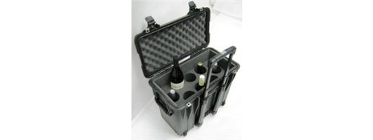 Wine Carrier Case - 8 Bottle