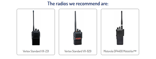 Construction & Industrial Radios