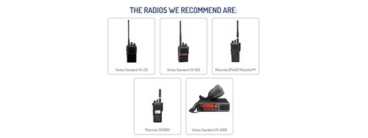 Couriers Warehouse & Distribution Radios