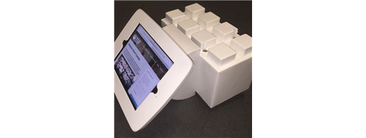 i-block Secure Tablet or ipad Holder