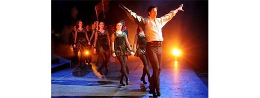 Riverdance uses Harlequin Cascade for touring