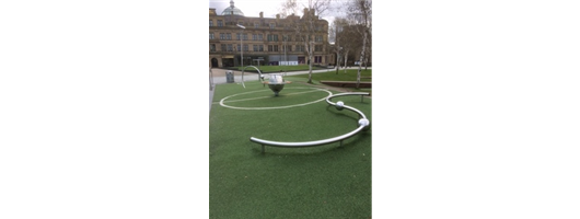 Playground Equipment - Manchester Football Museum