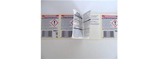 Peel & Read Labels