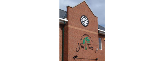 Exterior wall clocks by Good Directions Ltd