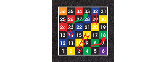 1-36 Snakes and Ladders