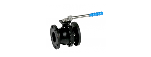 Lever operated 2 way firesafe carbon steel ball valve PN16