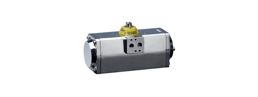 Max air pneumatic actuator with stainless steel housing