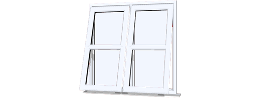 Cottage Style UPVC Windows