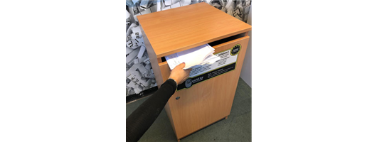 GDPR Compliant & Paper Securely Stored