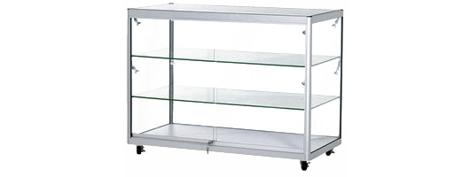 Moving display cabinets