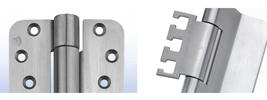 Hinges from D&E Architectural Hardware