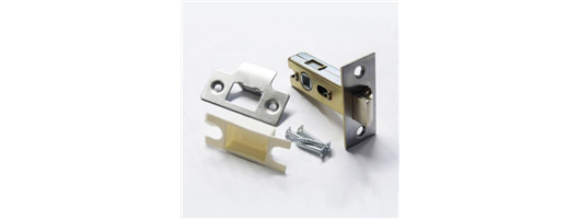 63mm - 2.5inch Stainless Steel Bolt Through Tubular Mortice Latch SSS
