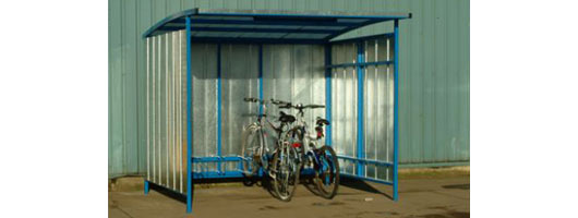 Bicycle storage, cycle racks, cycle shelters, Merlin Industrial Products Ltd