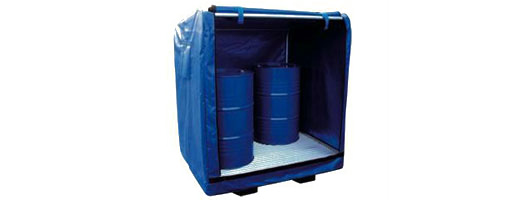 Spill containment, absorbents, bunds, drum trays, sump pallets, Merlin Industrial Products Ltd