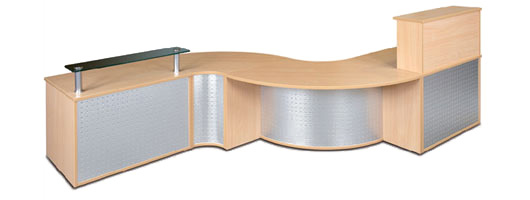 Reception furniture, waiting room seating, modular units, Merlin Industrial Products Ltd