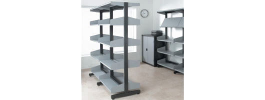 Shelving, library shelving, anti-bacterial shelving, wire shelving, ESD / EPA shelving, HTM71 NHS shelving, longspan shelving, mobile shelving, Merlin Industrial Products Ltd