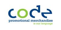 Code Promotional Merchandise Logo