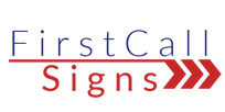 First Call Signs Logo