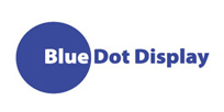 Bluedot Display Logo