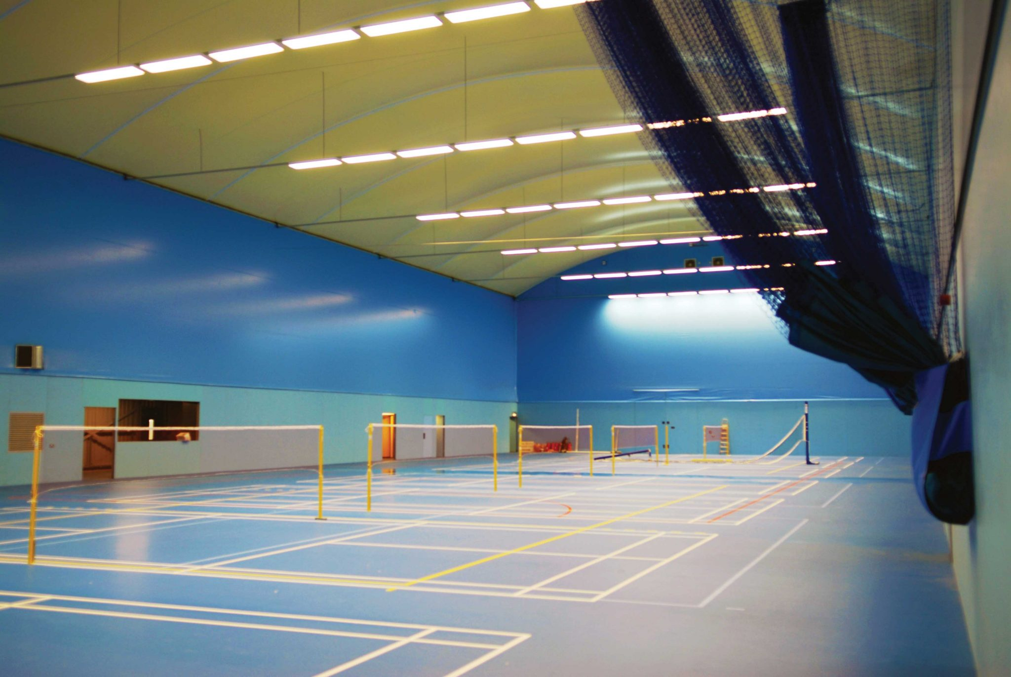 Badminton Court Construction Coprisystems