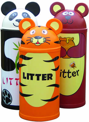 Animal litter bins